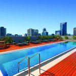 Wyndham Hotel Melbourne rooftop pool